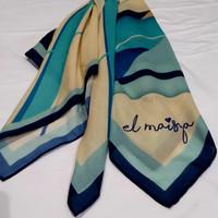 Hijab El Maisya - Blue Stripe