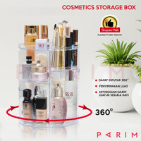 PARIM RAK KOSMETIK Putar Acrylic & RAK Make Up Putar 360 PRM-116