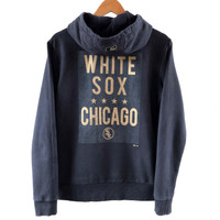 Jaket MLB Chicago White Sox Hoodie Zipper Second