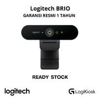 LOGITECH BRIO Webcam 4K Ultra HD - GARANSI RESMI
