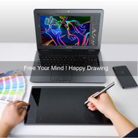DRAWING TABLET VEIKK A30 PEN TABLET 10x6 ORIGINAL A30 FREE GLOVE