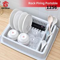 GM Bear Rak Piring Modern Serbaguna 1256 - Rak Kitchenware Drain