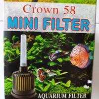 Crown 58 mini filter aquarium
