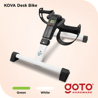 Kova Desk Sepeda Statis Terapi Lutut Kaki Mini Exercise Bike Portable