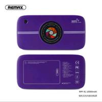 Remax Power Bank Wireless 10000mAh Camera - Purple / RPP-91PU