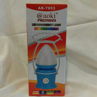 Senter LED Charger Emergency Light 40SMD AK-7853 AOKI