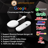 FIRST HAND !! GOOGLE CHROMECAST WITH GOOGLE TV ORIGINAL BNIB LIMITED