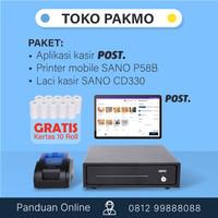 Paket aplikasi kasir mobile android Toko Pakmo