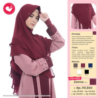 Rabbani - kerudung zaima Original Rabbani Kolesi Terbaru oktober 2020