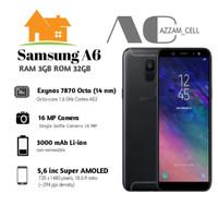 SAMSUNG GALAXY A6 2018 3/32GB GARANSI RESMI SEIN