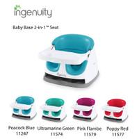 INGENUITY Baby Base 2-in-1 Seat - Poppy blue KURSI MAKAN BAYI WKJ