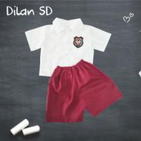 Setelan Dilan SMA kekinian | Baju SMA baby | Baju SMA Anak | Setelan