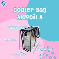 Tas Bekal tahan panas dan dingin / Cooler bag bekal / tas bekal anak - Aluf A, Alumunium
