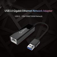 USB 3.0 to Lan RJ45 Gigabit Fast Ethernet Network Adapter Orico UTJ-U3