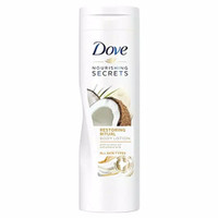 Dove body lotion with coconut oil and almond milk 400ml
