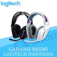 Logitech G733 LIGHTSPEED Wireless RGB 7.1 Surround Gaming Headset - Hitam
