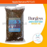 BURGESS JUNIOR & DWARF Rabbit Repack 1kg - Makanan Pelet Kelinci