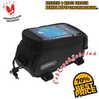 Tas Sepeda Frame Kotak dengan Tempat Handphone Berkualitas dan Murah