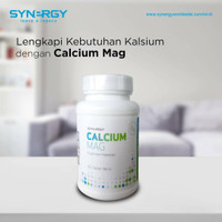 Calcium Mag Original Produk Herbal by USA berBPOM HALAL