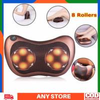 Bantal Pijat 8 Bola Massage Pillow Mobil dan Rumah Car Home Bantal