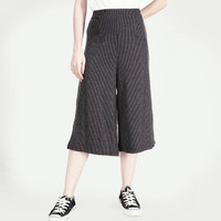 Celana Kulot / Paper Dark Grey Cullote Pants 42022L4DG - Logo Jeans