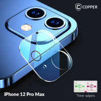 iPhone 12 Pro Max - Copper Tempered Glass Kamera
