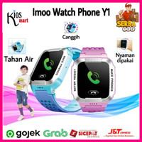 Imoo Watch Phone Y1 Original Jam Anak Pintar/Waterproof/Garansi Resmi - Blue