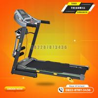 Alat gym Treadmill elektrik TL288 merk total fitness gym