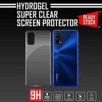 ANTI GORES BELAKANG REALME 7 PRO HYDROGEL PREMIUM SUPER CLEAR QUALITY