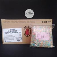 Tulip Chocorice Mix (warna) 500gr (Repack)