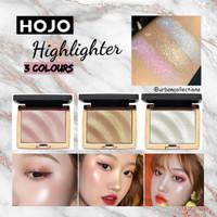 HOJO Highlighter Pallette Glitter Highlighter Make up Shimmer Bronzer - 01 Pink
