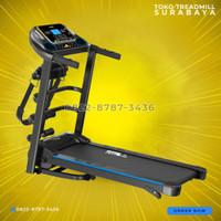 new arrival!!!Treadmill elektrik 4fungsi TL619 merk total fitness gym
