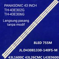 LED BACKLIGHT TV PANASONIC TH 43E302G TH 43E306G