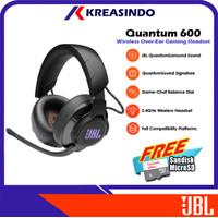 JBL Quantum 600 / Q600 Wireless Gaming Headset Headphone Garansi Resmi