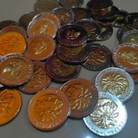 Uang Kuno 1000 Rupiah Kelapa Sawit 1996 Kinclong