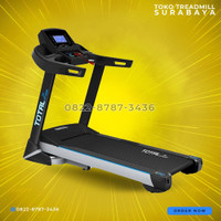Treadmill model besar motor 3hp tipe TL199 total fitness gym