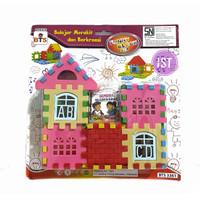 Mainan Block Puzzle Rumah No.BTS3361
