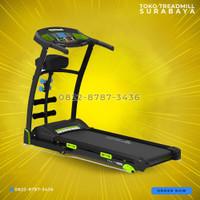 Treadmill elektrik auto incline tipe TL-133 total fitness gym