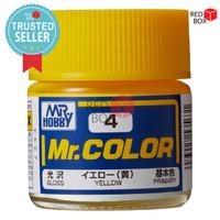 Mr Color C4 Yellow - Mr Hobby Gundam Model Kit Airbrush Paint Cat C 4