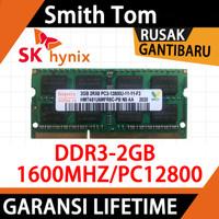 Ram laptop HYNIX SODIMM DDR3 2GB 1600MHZ/12800&1333MHZ/10600