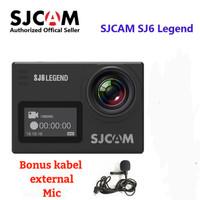 Action camera Sjcam SJ6 Legend support Gyro anti shake+external mic
