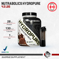 Nutrabolics Hydropure 4.5 Lbs Hydro Pure Whey Isolate Hydrolized