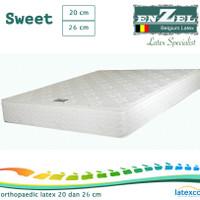 Kasur Enzel Latex Sweet 20cm Orthopaedic Uk 90x200