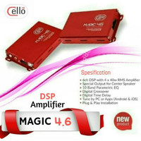 Processor build in Power Cello Magic dsp 4.6 Resmi Cello Indonesia 4ch