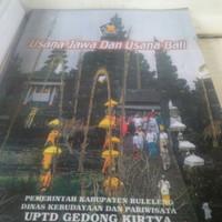 Buku Usana Jawa usana Bali