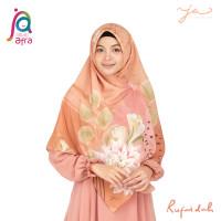 Jilbab Afra JA Signature Voal Segi Empat Hijab Instant Motif Rufaidah