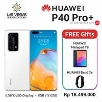 Huawei P40 Pro+ Plus 8GB/512GB 5G Free Matepad T8 & Huawei Band 3E