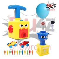 Mainan Balloon Launcher Mobil Pompa Tenaga Balon Tekan Anak