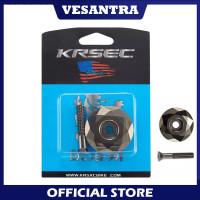 KRSEC Premium Tutup Stem Cover Top Cap Headset Sepeda Silver