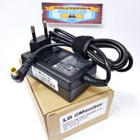 Adapter Charger Monitor LG TV LED LG 19V 1.3A Original